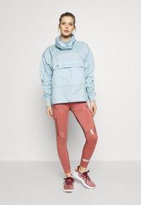 adidas by Stella McCartney - TECH SWEATER - Träningsjacka - blue - 1