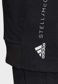 adidas by Stella McCartney - ESSENTIALS HOODIE - Zip-up hoodie - black - 8