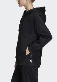 adidas by Stella McCartney - ESSENTIALS HOODIE - Zip-up hoodie - black - 3