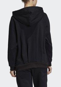 adidas by Stella McCartney - ESSENTIALS HOODIE - Zip-up hoodie - black - 2