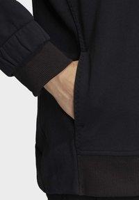 adidas by Stella McCartney - ESSENTIALS HOODIE - Zip-up hoodie - black - 6