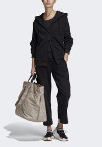 adidas by Stella McCartney - ESSENTIALS HOODIE - Zip-up hoodie - black - 1