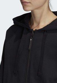 adidas by Stella McCartney - ESSENTIALS HOODIE - Zip-up hoodie - black - 5