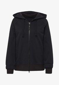 adidas by Stella McCartney - ESSENTIALS HOODIE - Zip-up hoodie - black - 7