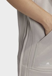 adidas by Stella McCartney - TRAINING SLEEVELESS HOODIE - Zip-up hoodie - beige - 4