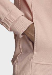 adidas by Stella McCartney - ESSENTIALS HOODIE - Zip-up hoodie - pink - 5