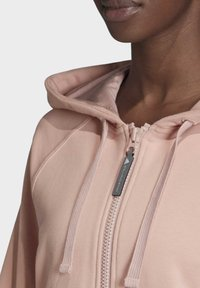 adidas by Stella McCartney - ESSENTIALS HOODIE - Zip-up hoodie - pink - 3