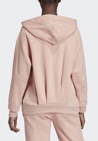 adidas by Stella McCartney - ESSENTIALS HOODIE - Zip-up hoodie - pink - 2