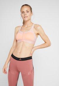 adidas by Stella McCartney - MASTECTOMY CLIMALITE BRA - Sport BH - grey, pink - 0