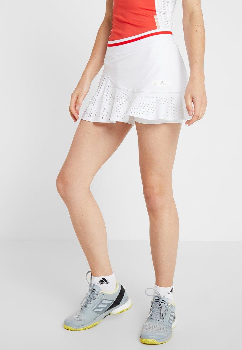 adidas by Stella McCartney - SKIRT - Sportovní sukně - white