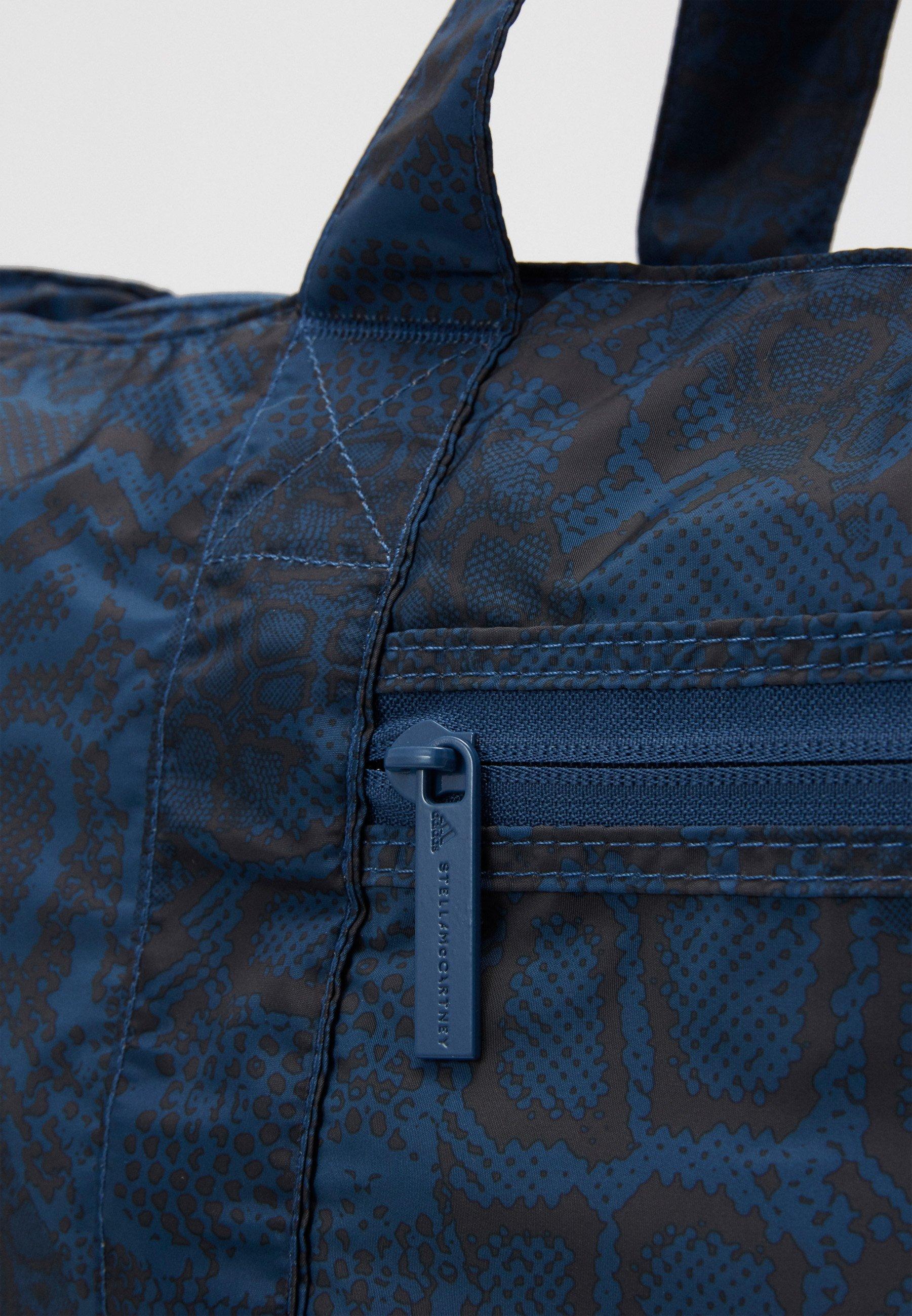 Adidas By Stella Mccartney Large Tote - Sports Bag Blue/black/white