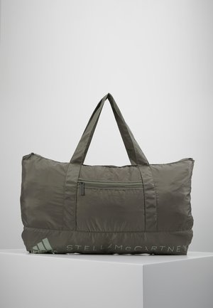 LARGE TOTE - Sports bag - grey/brown