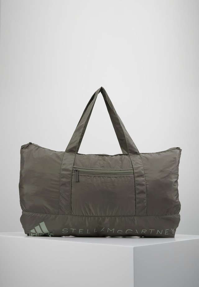 LARGE TOTE - Borsa per lo sport - grey/brown