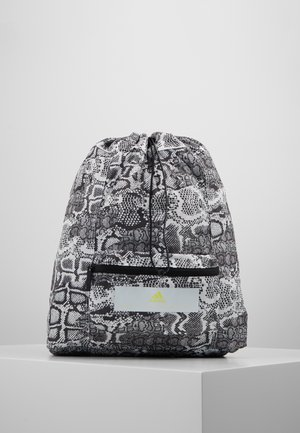 GYMSACK - Rugzak - black/white/yellow