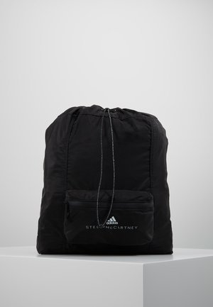 GYMSACK - Drawstring sports bag - black/white