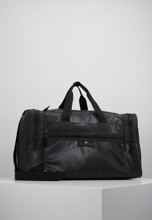 SQUARE DUFFEL M - Sportstasker - black/black/white