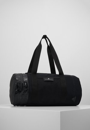 ROUND DUFFEL S - Sports bag - black/black/white