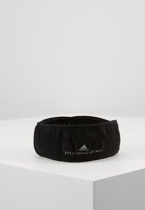 RUN HEADBAND - Čelenka - black/reflective silver