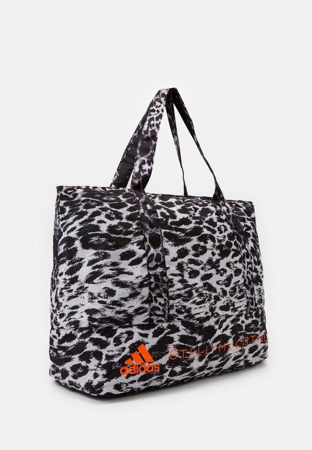 LARGE TOTE - Sports bag - black/white/apsior