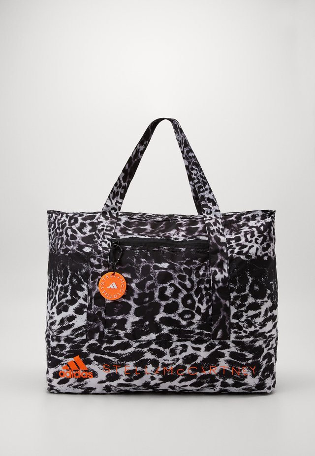 LARGE TOTE - Sporttas - black/white/apsior