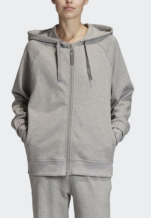 2020-01-15 ESSENTIALS HOODIE - Collegetakki - grey