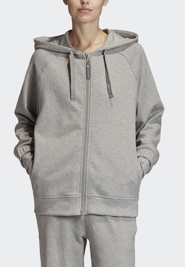 2020-01-15 ESSENTIALS HOODIE - Zip-up hoodie - grey