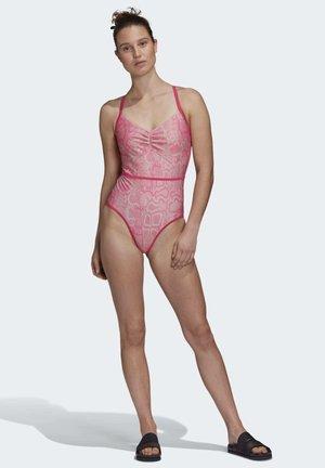 2020-03-02 SWIMSUIT - Badpak - pink