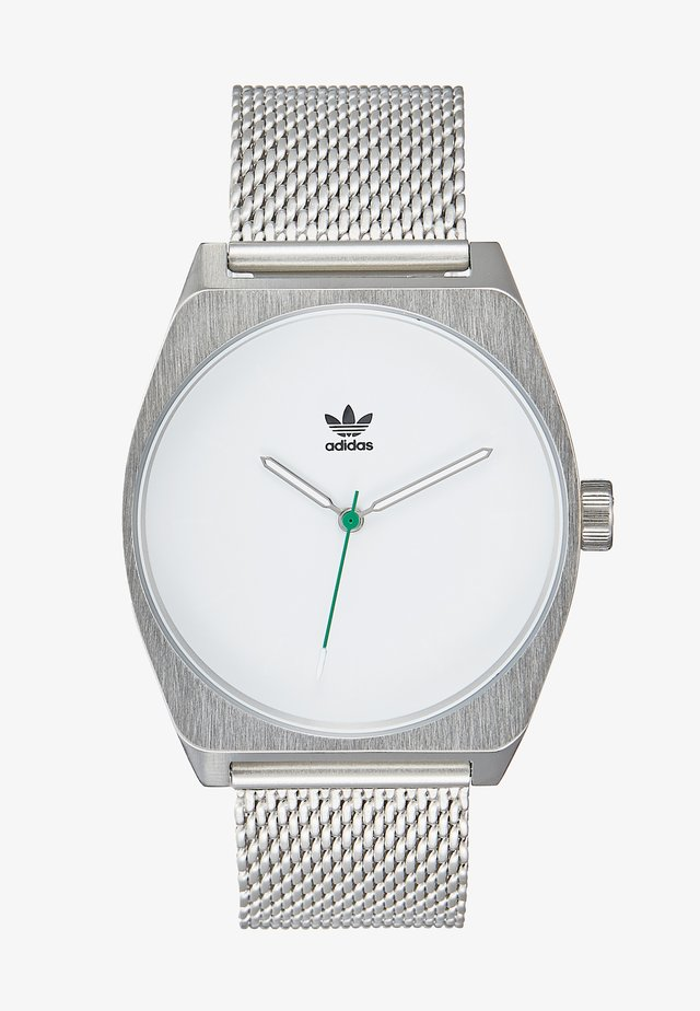 PROCESS_M1 - Horloge - silver-coloured/white/green