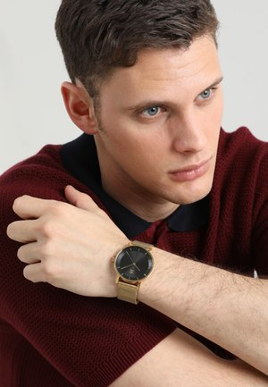 DISTRICT M1 - Watch - gold-coloured/black sunray