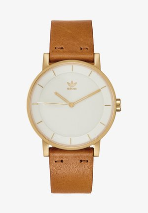 DISTRICT L1 - Watch - gold-coloured/cream/tan
