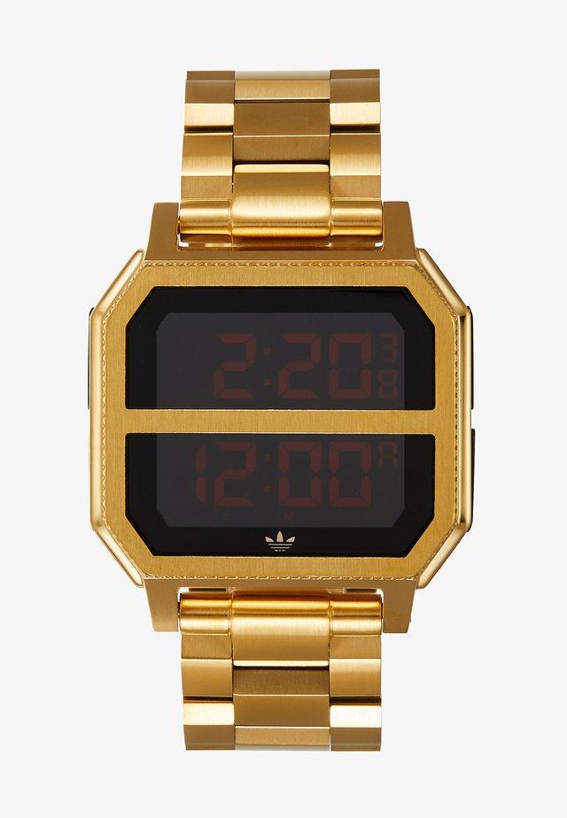 ARCHIVE MR2 - Digitální hodinky - gold-coloured