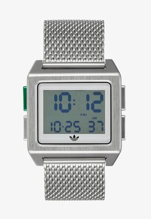 ARCHIVE M1 - Digital watch - silver-coloured/white/green