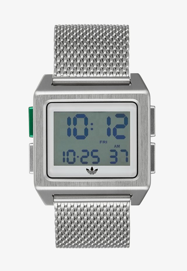 ARCHIVE M1 - Digitaal horloge - silver-coloured/white/green