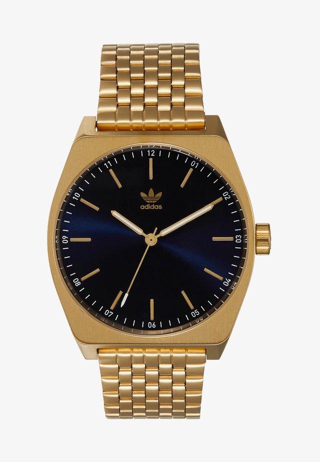PROCESS_M1 - Horloge - gold/navy