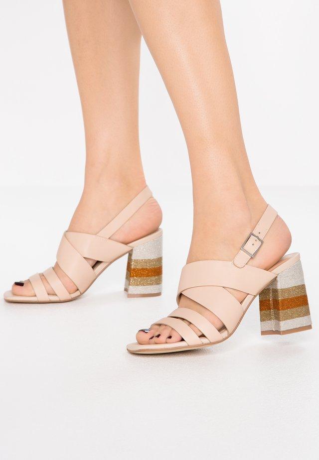 Sandaletter - nude/naturale