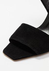 Aeyde - GABRIELLA - Højhælede sandaletter / Højhælede sandaler - black - 2