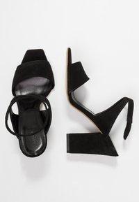 Aeyde - GABRIELLA - Højhælede sandaletter / Højhælede sandaler - black - 3