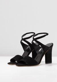 Aeyde - GABRIELLA - Højhælede sandaletter / Højhælede sandaler - black - 4