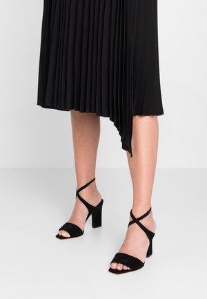 GABRIELLA - Højhælede sandaletter / Højhælede sandaler - black