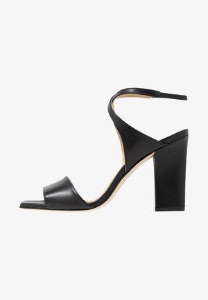 GABRIELLA - Korolliset sandaalit - black