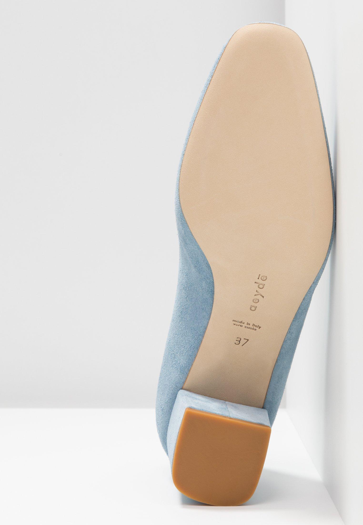 Aeyde BLAKE - Escarpins light blue