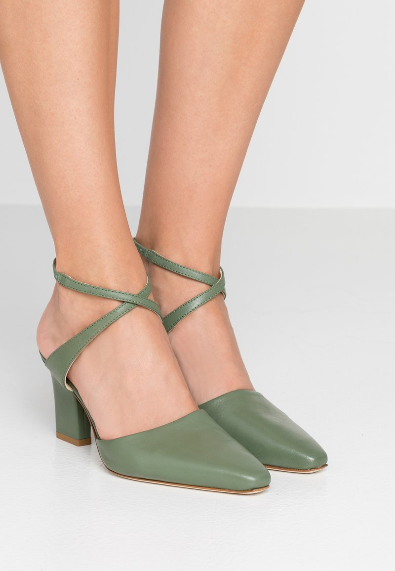 Aeyde - LILA - Classic heels - sea foam