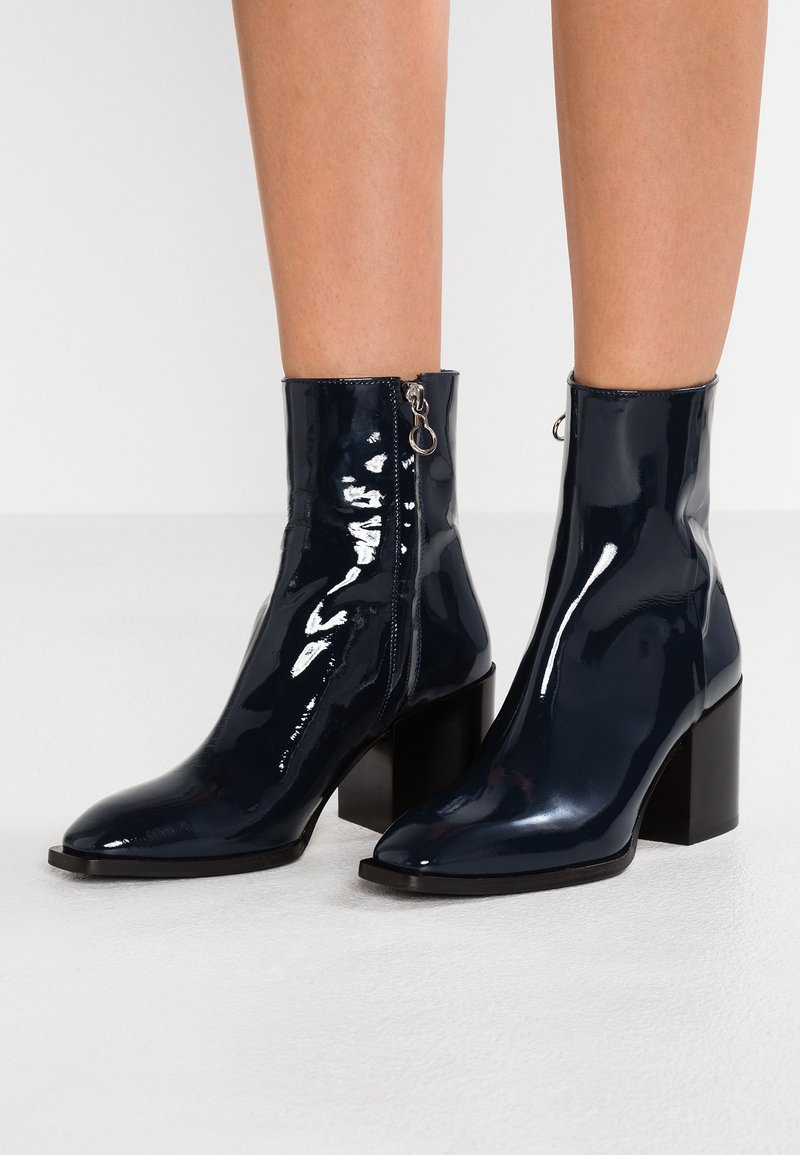 Aeyde - LEANDRA - Classic ankle boots - midnight blue