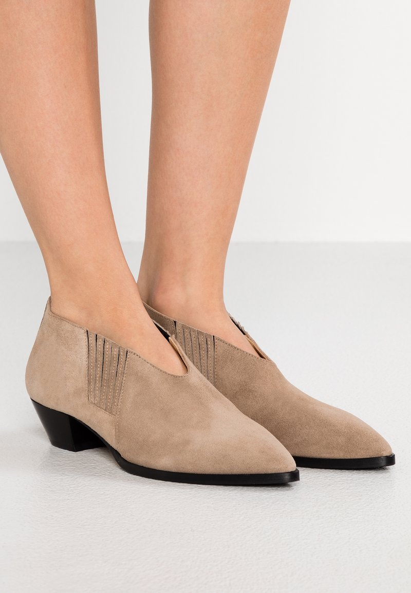 Aeyde - WILL - Ankle boots - biscuit