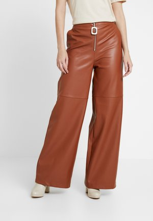 CITRINE - Trousers - brown topaz