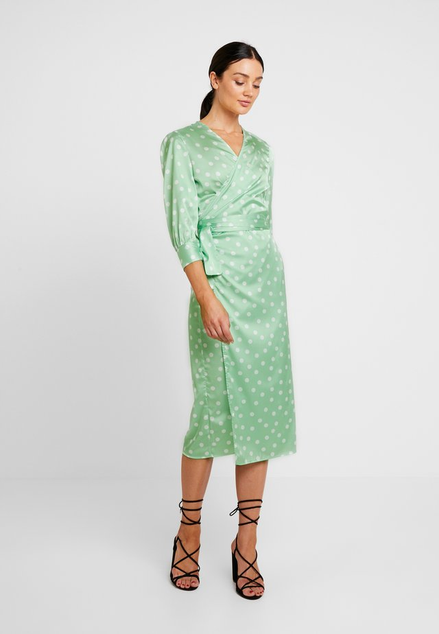COWRY DOT DRESS - Freizeitkleid - mint