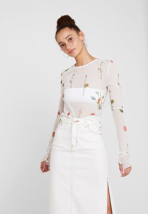 CAMILLE - Maglietta a manica lunga - blanc