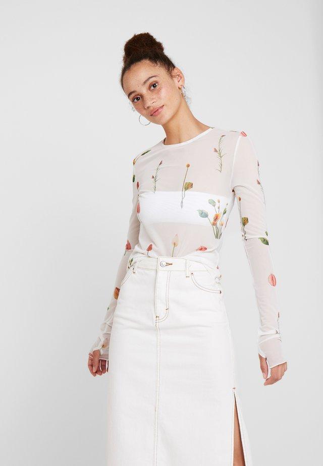 CAMILLE - Långärmad tröja - blanc