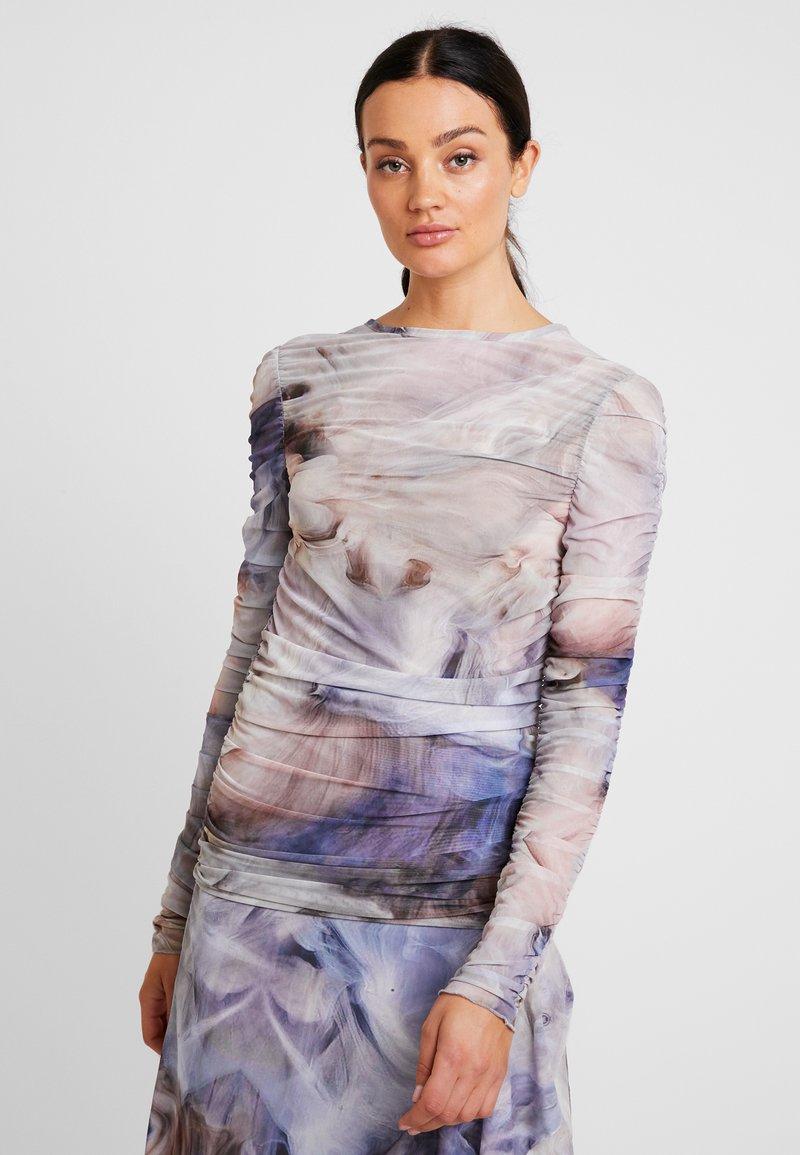 Aéryne - SIMNIA - Langærmede T-shirts - oyster