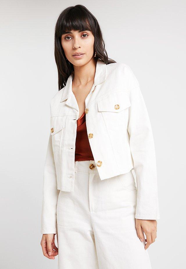 COSETTE JACKET - Denim jacket - blanc